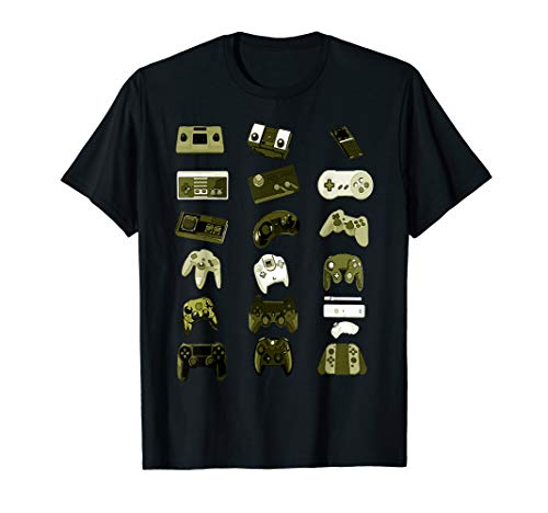 Gaming Spiele Konsole Controller Evolution - Zocker T-Shirt T-Shirt