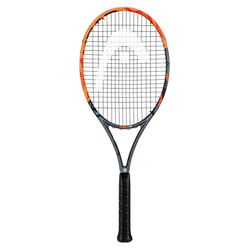 Head Graphene XT Radical MP - Raqueta de Tenis, Color Naranja/Negro/Rojo, Talla S40
