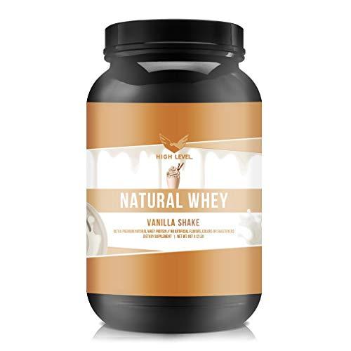 High Level Natural Whey Protein Powder   Vanilla...