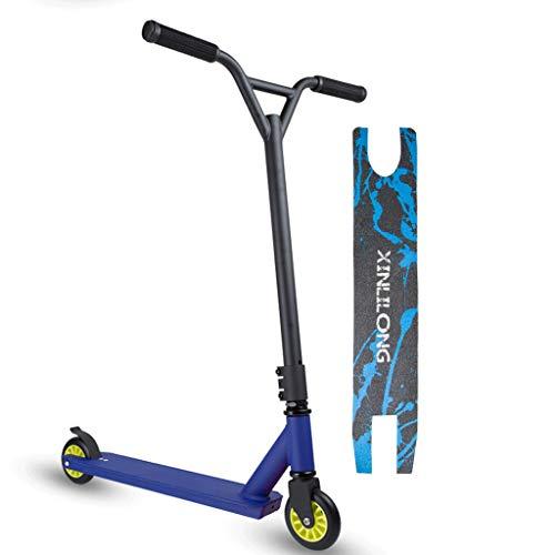 AOCT SHOP-Electric Scooter Stunt Roller Pro 360 Spin Street Roller, Sport Trick Jump Push Kick Roller Ab 8 Jahren, Leichtmetalldeck, ABEC-7 Bearings Trick Edition