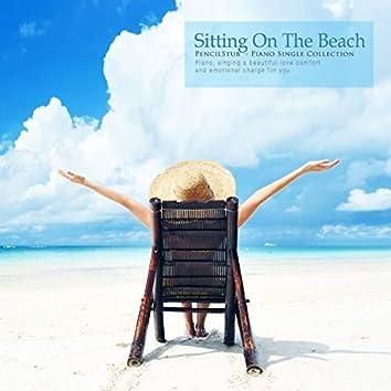 Sit on the beach