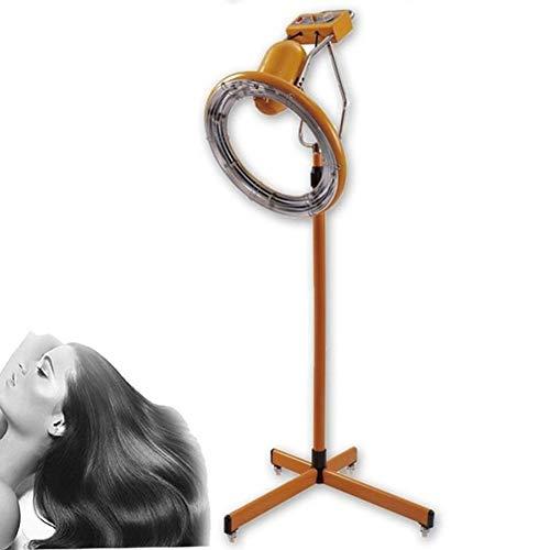 Casques Chauffants,800W-950W Vertical Teinture pour Les Cheveux Perm Machine de Soin de séchage,Convient pour Le coiffage Permanent et Le Soin des Cheveux après la Teinture dans,Jaune