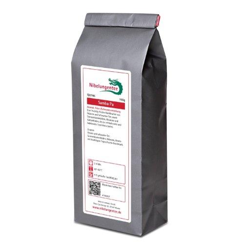 Nibelungentee Samba Pa 250g (Aromatisierter Grüntee/Schwarztee)
