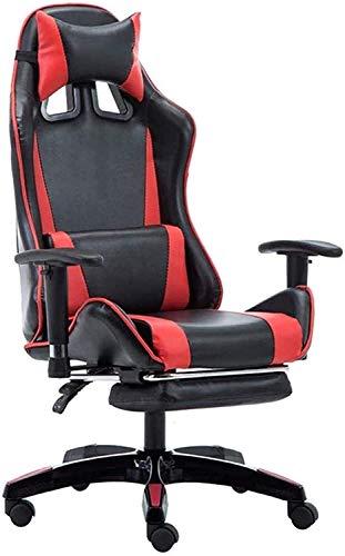 N/Z Living Equipment Gaming Stuhl Computerstühle Gamer Stuhl Computerstuhl Bürostuhl 8Cm Hubarmlehne 145 Grad;Reclinable Design Casual Seating Chair Sitzende ist Nicht müde Last