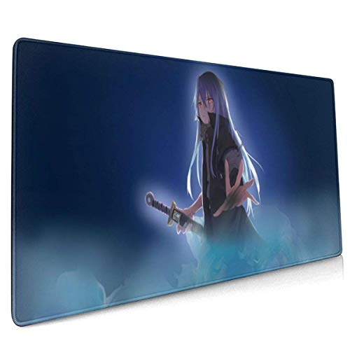Gaming Mauspad | Mousepad | That Time I Got Reincarnated As A Slime Mousepad Mikrofaser Verbessert Geschwindigkeit und Präzision, rutschfest Gummierte Unterseite Waschbar Verschleißfest Schwarz