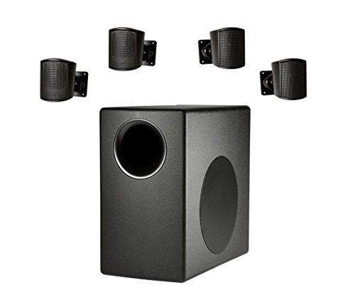 Why Choose JBL Professional C50PACK-WH Surface Mount Subwoofer and Mini-Satellite Loudspeaker System...