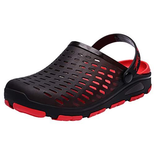 Great Features Of KCPer Men's Women's Garden Clogs Mesh Slippers Sandals Summer Beach Shoes Lightwei...