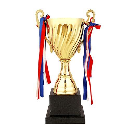 jojofuny Auszeichnungen Pokal Trophäe Gold Metall Corporate Cup Auszeichnung für Sportturniere Wettbewerbe Kinder Studenten Erwachsene 24. 5Cm