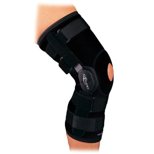 DonJoy Playmaker Neoprene Knee Brace (Medium Sleeve Open Back w/out Patella Donut)