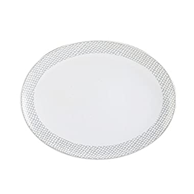 Mikasa Avery Dots Oval Serving Platter