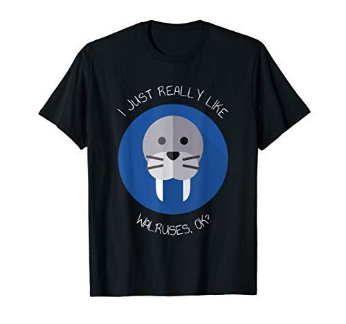 Walross Robbe Seehund T-Shirt
