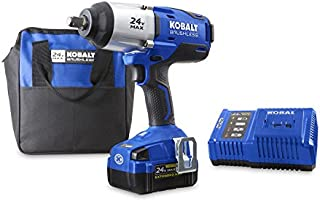 Kobalt 24-Volt Max-Volt 1/2-in Drive Cordless Impact Wrench (Item #672825)