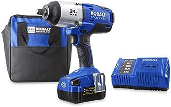 Kobalt 24-Volt Max-Volt 1/2-in Drive Cordless Impact Wrench (Item #672825)