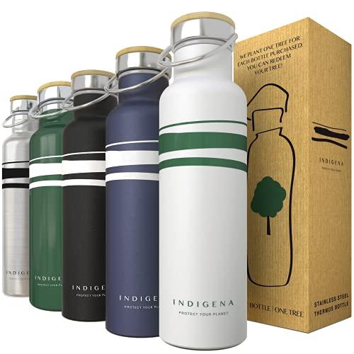 borraccia termica italiana INDIGENA - Bottiglia Termica in Acciaio Inox