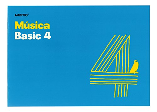 Additio Basic 4 – Cuaderno de música, color azul