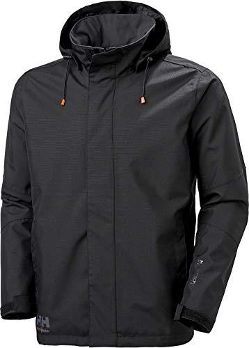 Helly Hansen Workwear x chaqueta, Black, L - Chest 37.8', (96.01cm) Unisex-Adulto