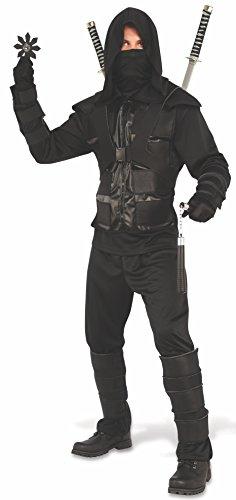 Rubie's Men's Dark Ninja Adult Sized Costumes, As Shown, Extra-Large US