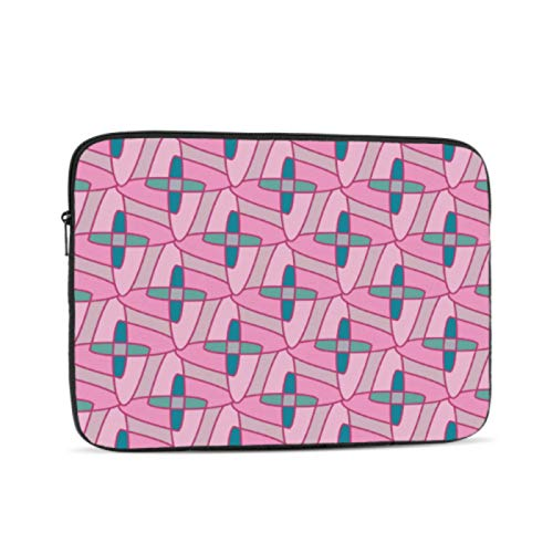 MacBook Pro Screen Protector Colorful Geometric Cross Mac Cases Multi-Color & Size Choices10/12/13/15/17 Inch Computer Tablet Briefcase Carrying Bag