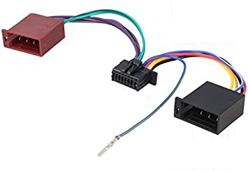 TechExpert Cable ISO para Autorradio JVC kd-x141 kd-x341bt kd-x342bt kmm-bt203