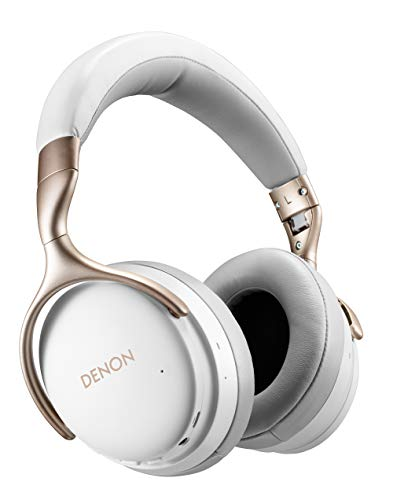 Denon AH-GC30 Wireless Noise Cancelling koptelefoon (40 mm drivers, Bluetooth) Eén maat wit