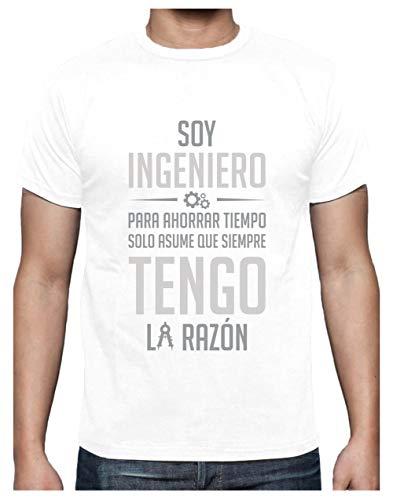 Camiseta Hombre - Regalos Ingenieros - Soy Ingeniero