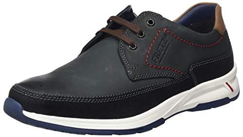 FRETZ men Cordless, Zapatos de Cordones Derby Hombre, Blau Blue, 41 EU