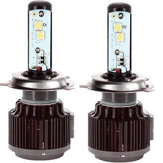 HABILL-AUTO Kit de Conversion LED Pro CANBUS H4 6000k 12/24V