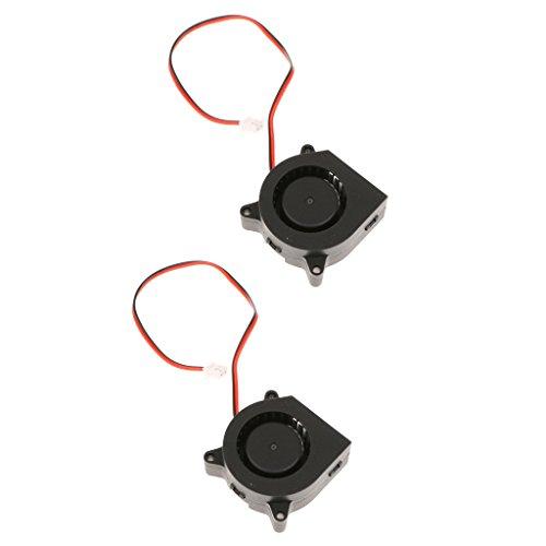 #N/A/a Ventilador Silencioso 2 * 12V para Impresora 3D 40x40x20mm