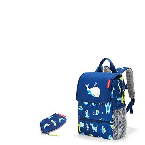 reisenthel Kids Kinder Kindergarten Rucksack/Backpack ABC Friends Blue Plus Gratis Coin Purse