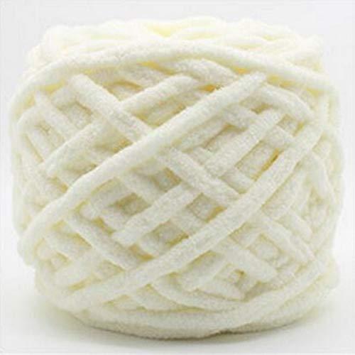 XINSHENG Store 2 Bunte Seide Strickgarn Schal handgewebten weiche Baumwollgarn grobe Wollgarn große Decke (Farbe : Color1)