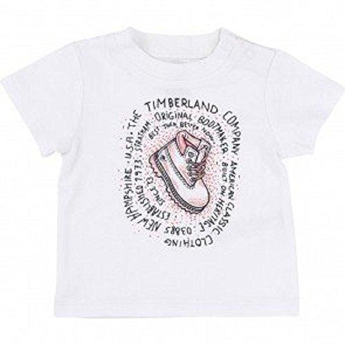 Timberland T-shirt à manches courtes pour garçon Blanc 9 m