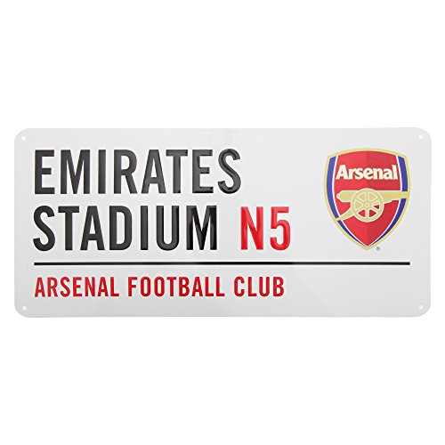 Club Licensed Arsenal Street Sign (40 cm x 18 cm)
