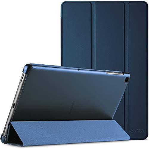 ProCase Funda para Galaxy Tab A7 10.4' 2020 T500 T505 T507, Carcasa Delgada con Posterior Translúcido para Tableta Galaxy Tab A7 10.4 Inch SM-T500/T505/T505N/T507 Versión 2020 - Azul Marino