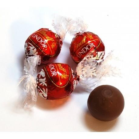 Cioccolatini al Latte Lindor Lindt (rossi) 1000 gr
