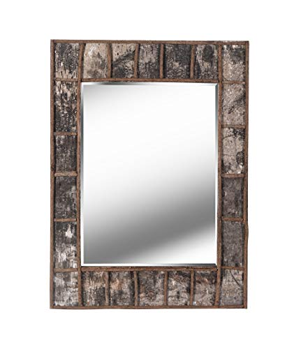 Kenroy Home Rustic Wall Mirror, 38 Inch Height, 28 Inch Width, 1 -
