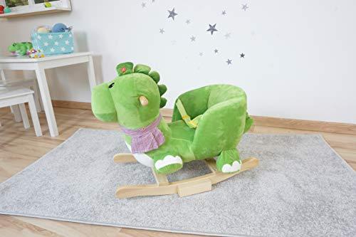Knorrtoys 40481 – Schaukeltier Dino Olaf mit Sound - 14