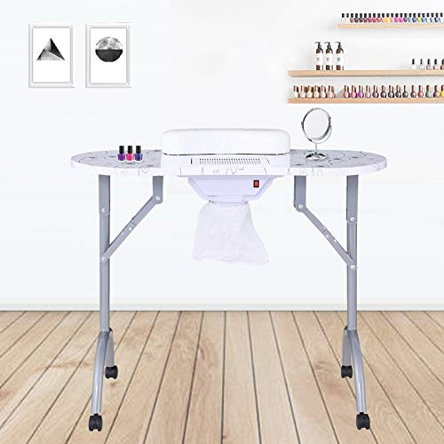 SUNCOO Manicure Nail Table