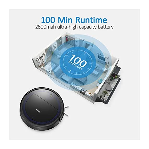 """Robit V7S PRO Robot Vacuum Cleaner, Upgraded 2000Pa Strong Suction, Ultra-Thin, Drop Sensor, Quiet, Self- Charging… 6 🐱 Enhanced 2000Pa Strong Suction: With the most advanced powerful motor, Robit V7S Pro Robot Vacuum has a 2000Pa intense suction, easily picking up dust and hair even from hard floor and carpet.3 Stage Cleaning System provided meets any various demands, you can choose whichever you like. 🐶 Slim Body & Super Quiet: Applying unique High quality Nidec brushless motor, this robot vacuum cleaner is endowed with mini noise while cleaning, so you can enjoy yourself with no disturbance. Only 3.1"""" height makes it easy to freely glide under the bed, the sofa or the table , and all the hidden dust can be swept away. 🐹 Schedule a Cleaning : Delivered by a Time Reservation, this robot vacuum pet can work perfectly as scheduled and multiple cleaning modes generates a customized cleaning routine."""