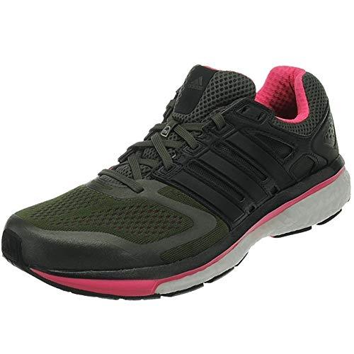 adidas, Supernova Glide Boost, Damenlaufschuhe, grün/schwarz