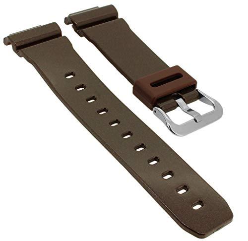 Casio G- Shock GB-6900AA-5ER GB-6900 GB-6900AA - Correa de repuesto para reloj de pulsera, color marrón