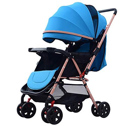 Affordable WYANAN High Landscape Lightweight Folding Baby Stroller Can Sit Can Lie Baby Stroller Bi-...
