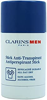 Clarins Men Antiperspirant Deo Stick, 2.6 Ounce