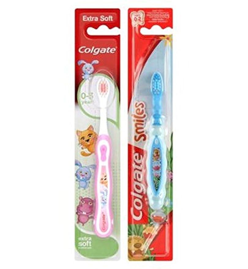 無知アンテナ経歴コルゲート私の最初の歯ブラシ (Colgate) (x2) - Colgate My First Toothbrush (Pack of 2) [並行輸入品]