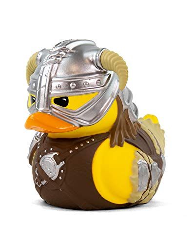 TUBBZ Skyrim Dovahkiin Collectible Rubber Duck Figurine – Official Skyrim Merchandise – Unique Limited Edition Collectors Vinyl Gift