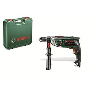 41RUPcweW9L. SS300  - Bosch Home and Garden 0603174000 Taladro percutor, 900 W, 230 V, Negro, Verde, Gris