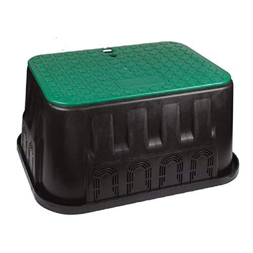 "UZMAN 14\"" Jumbo Ventilkasten, Ventilbox, Hydrantenschacht Garten Bewässerung Schlauchsystem Ventilschacht Ventil Wasserschlauch Bewässerungssystem Bewesserungsrohr"