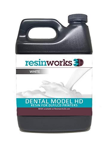 Resinworks 3D printer resin Dental Model white - 500g bottle