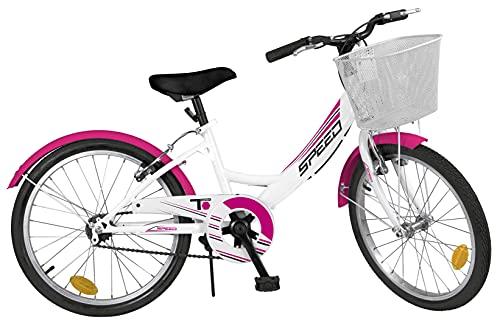 Pik&Roll 20-Niña-6v Blanco-2020 - Bicicleta de 20' para niña, Color Blanco