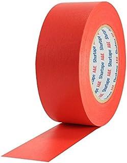 Panastore Paris - Rotolo adesivo di carta americana, 50 mm x 50 m, colore: Rosso
