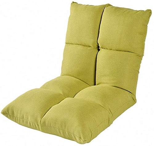 LHY- Lit Computer Chaise Lazy Simple Canapé Tatami Pliant de Style Japonais Bay Dortoir Fenêtre Plancher Canapé Doux (Color : Green)